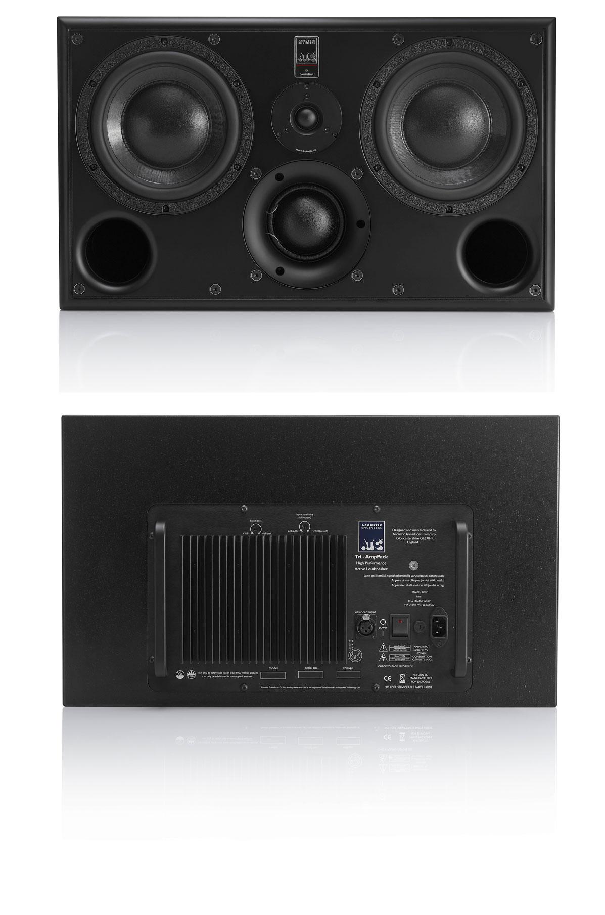 ATC's SCM45A Pro, front & back.